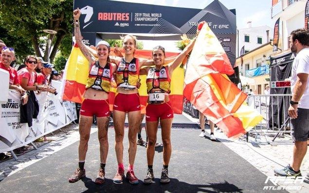 Azara García, Sheila Avilés y Gemma Arenas