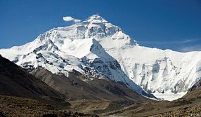 Una imagen del Everest, el techo del mundo