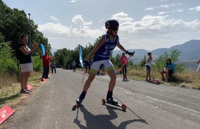 Disputados campeonatos de España de Rollerski Loterías en Jaca