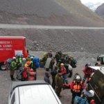 El fallecdio en cerro bastión formaba parte de un grupo de siete excursionistas