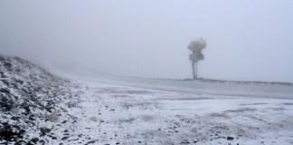 El centro invernal se ha teñido de blanco esta madrugada
