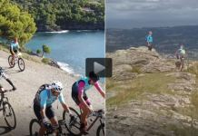 Un grupo de senderistas salió de la costa atlántica y el de ciclistas de la mediterránea y acabarán encontrándose en 6 días