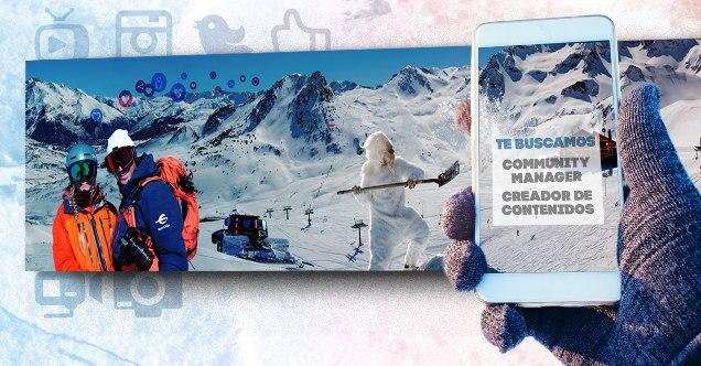 Un trabajo para esquiadores y snowboarders