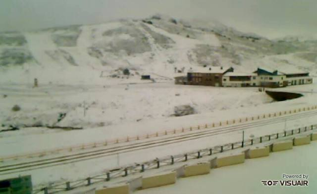 La nieve llega hasta San Isidro