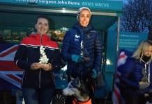Olga Álvarez revalidó en Gran Bretaña su título de campeona del mundo de mushing. FOTO: RFEDI
