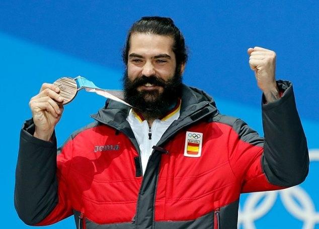 Regino Hernández, vigente bronce olímpico de SBX