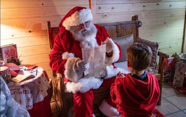 Papá Noel llega a Grandvalira