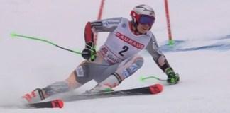 """Tras su victoria en el gigante de Alta BadiaKristoffersen dijo que """"todos hemos esquiado horrible en una carrera horrible""""."""