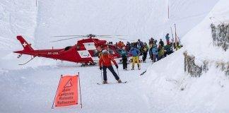 La estación austriaca de Andermatt ha sufrido tres aludes