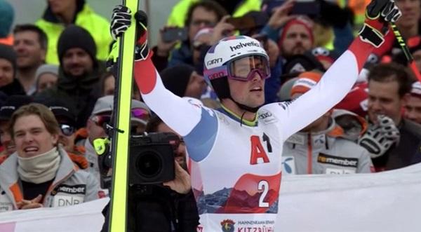 Daniel Yule ha ganado su tercer slalom de la temporada. Tres victorias en siete carreras disputadas.