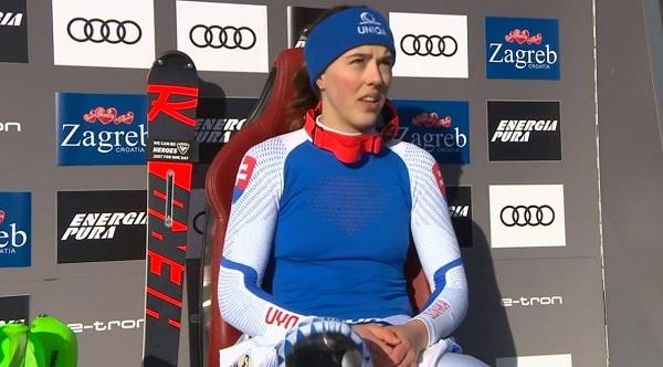 Petra Vlhova ha sido la más rápida en las dos mangas.