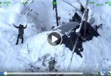 El jueves era rescatado por los soldados del Departamento de Seguridad Pública de Alaska