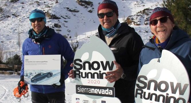 Chema Martínez es uno de los favoritos del Snow Running