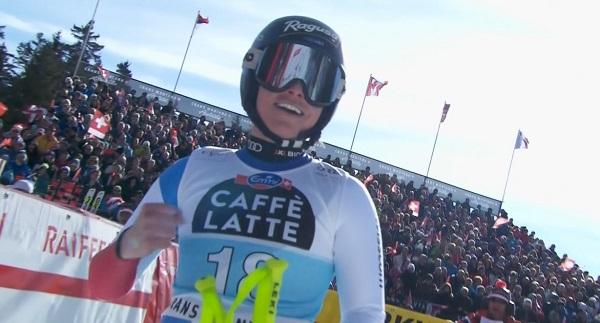Lara Gut se ha reencontrado con la victoria en el primer descenso de Crans Montana.