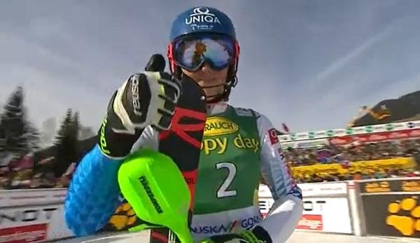 Petra Vlhova ha esquiado como sabe en la segunda manga y se ha llevado su 14ª victoria en la Copa del Mundo.