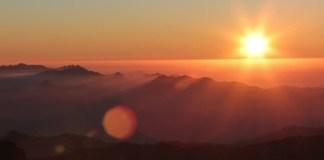 Puesta del sol desde la cima del Pic du Midi