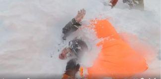 El chico que los rescató aseguró que espera concienciar a los freeriders del peligro de los aludes tras una gran nevada