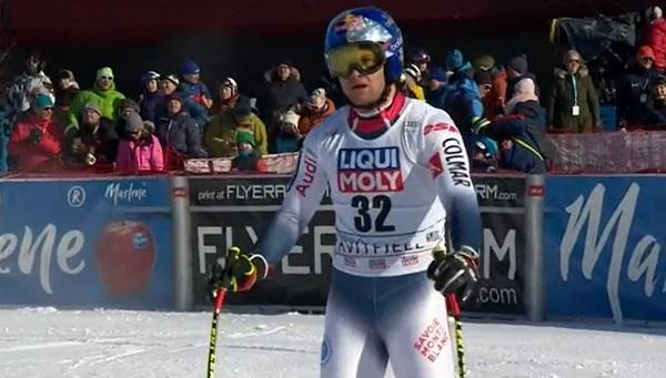 Alexis Pinturault no ha logrado arañar ningún punto en el descenso.