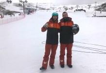 Lucas Eguibar y Regino Hernández estarán arropados por la afición esta semana en Sierra Nevada. FOTO: RFEDI