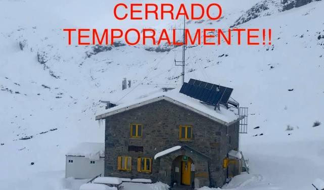 El Refugio de Góriz cierra las puertas y se aúnan al hashtag #quedatencasa