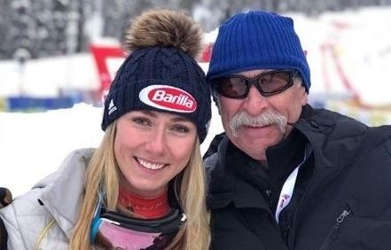 Mikaela con Jeff, su padre, fallecido el pasado febrero. FOTO: Instagram M.S.
