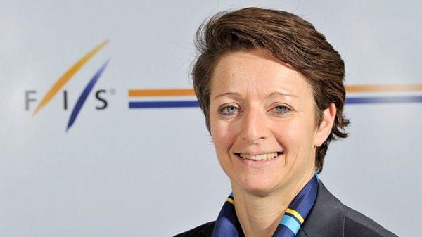 Sarah Lewis, una de las candidatas a suceder a Gian Franco Kasper al frente de la FIS.