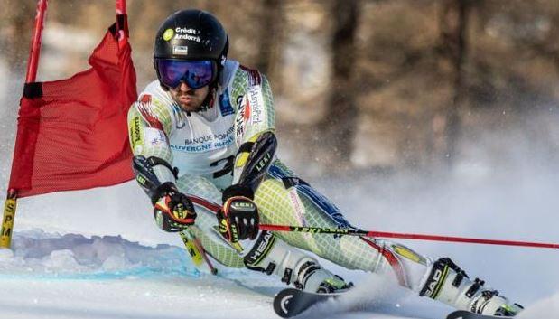 El esquiador Joan Verdú en carrera FOTO: Altaveu.com/ FAE