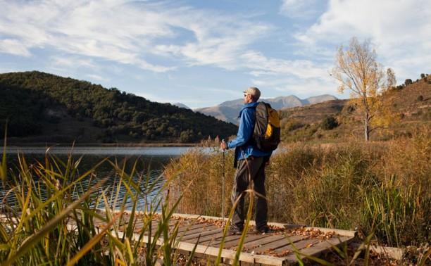 Lago Montcortés en el Pallars Sobirà
