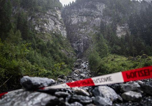 Lugar del accidente en Parlitobel/ Marca- EFE
