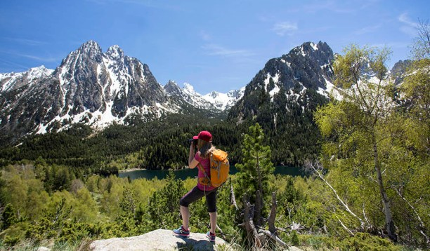 Senderismo, otra de las actividades veraniegas en el Pirineo de Lleida