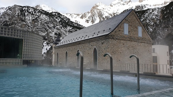 El balneario de Panticosa, un puntal del turismo de invierno en Aragón.