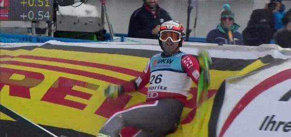 El canadiense se regaló un bronce en el super G del Mundial de St. Moritz edl mismo día en que cumplía 33 años.