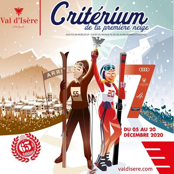 Las pruebas del Criterium de la Primera Nieve en Val d'Isère, pendientes de confirmación.