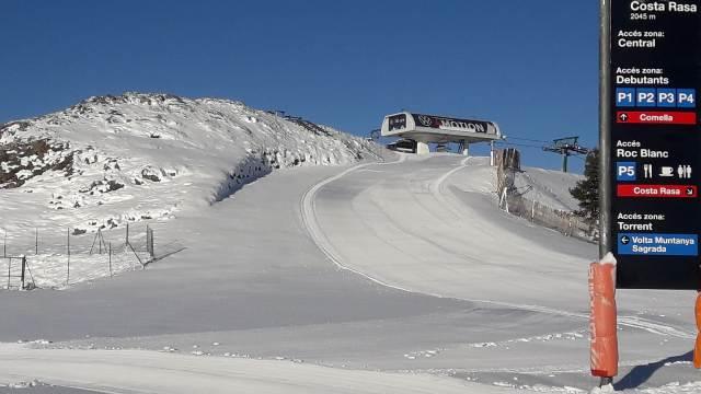 La Molina después de la nevada