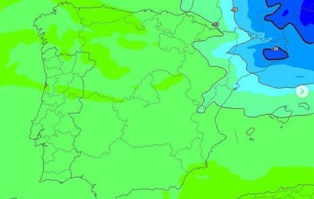 La masa fría del noreste podría traer nieve en cotas muy bajas