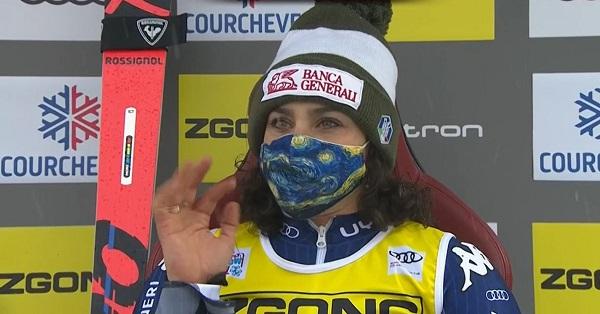 Una gran segunda manga de Brignone le ha permitido remontar tres puestos para acabar quinta.