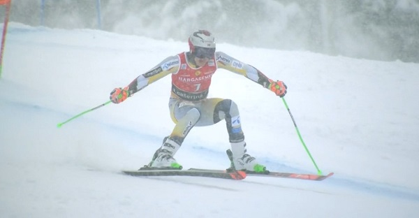 Henrik Kristoffersen ha sufrido lo suyo para acabar vigésimo segundo.