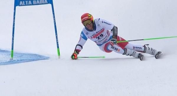 Justin Murisier ha volado en el tramo inicial de la segunda manga para auparse al podio.