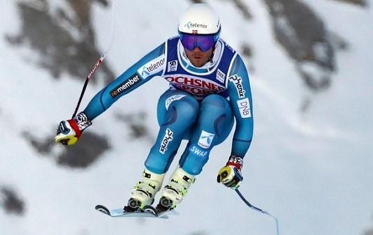 Kjetil Jansrud fue el ganador del último descenso y super G disputado en Val d'Isère, en diciembre de 2016. FOTO: CBC Olympics