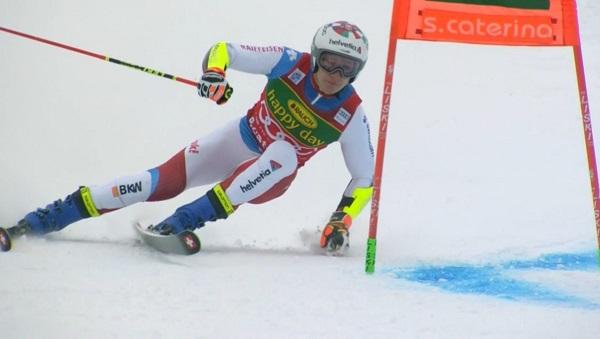 Marco Odermatt no ha tenido rival en el segundo gigante de Santa Caterina y ha logrado la victoria.