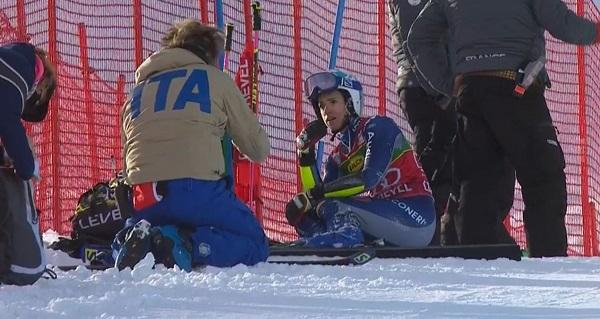 Así ha acabado la carrera Marta Bassino.