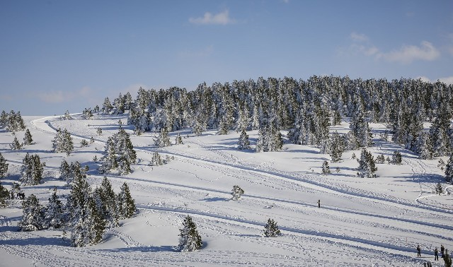 Una imagen del centro invernal de Beille (Ariege)