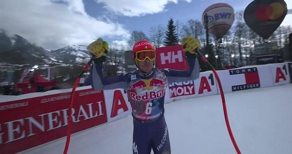 Innerhofer se ha quedado a casi medio segundo del podio.