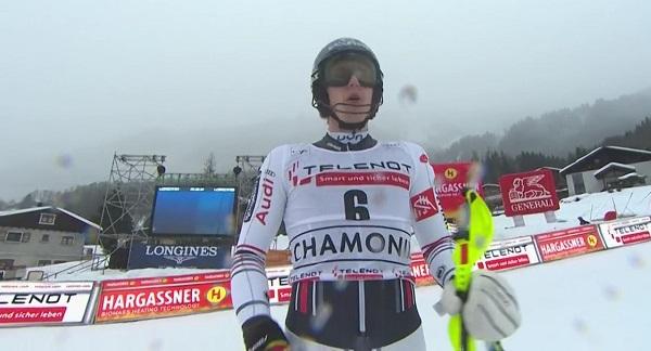 Clément Noël ha conseguido su primera victoria de la temporada, revalidando la del año pasado en Chamonix.