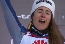 Sofia Goggia ha ganado tres de los cuatro descensos disputados. En el que no ganó fue segunda.
