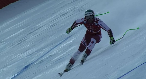 Kriechmayr se ha estrenado con la victoria sobre una nieve muy complicada.