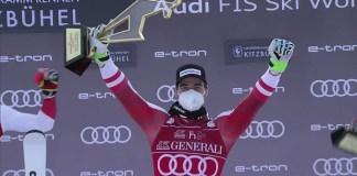 Primera victoria de Kriechmayr en la Streif, una pista mítica para cualquier austriaco.