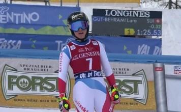 Segundo descenso de Val di Fassa y segunda victoria de Lara Gut, que aumenta su ventaja al frente de la Copa del Mundo.