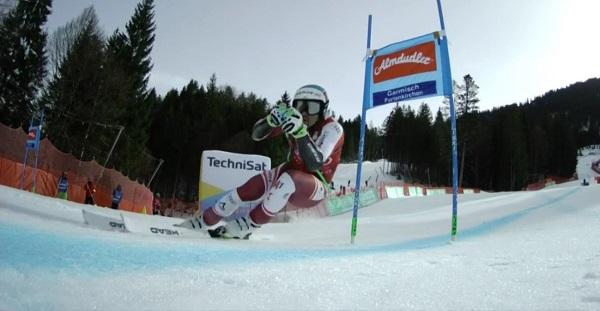 Vincent Kriechmayr se ha hecho con su segunda victoria de la temporada en el super G de Garmisch Partenkirchen.