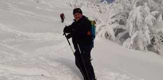 Juanito Oiarzabal en una de sus últimas salidas a la nieve
